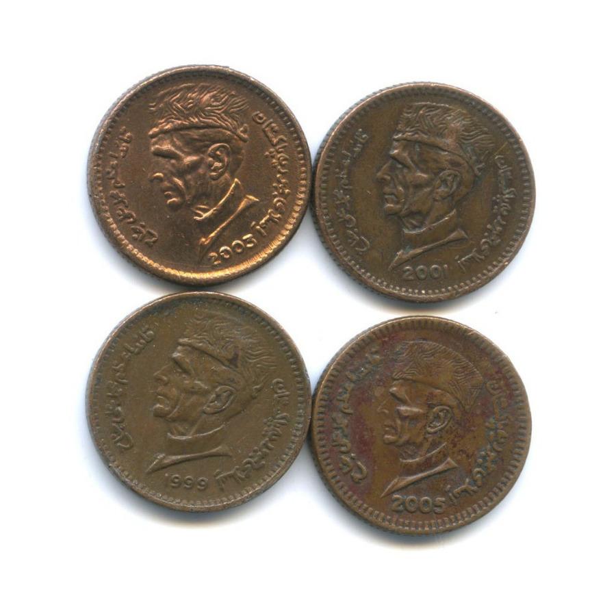 Набор монет 1 рупия (Пакистан)