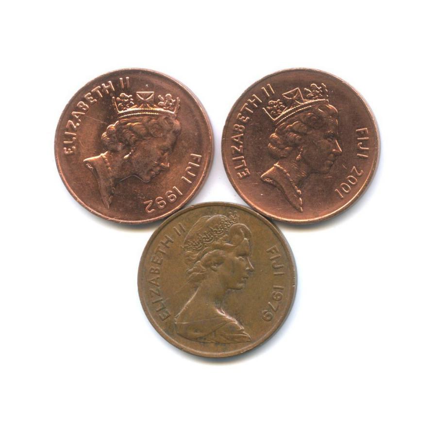 Набор монет 2 цента (Фиджи)