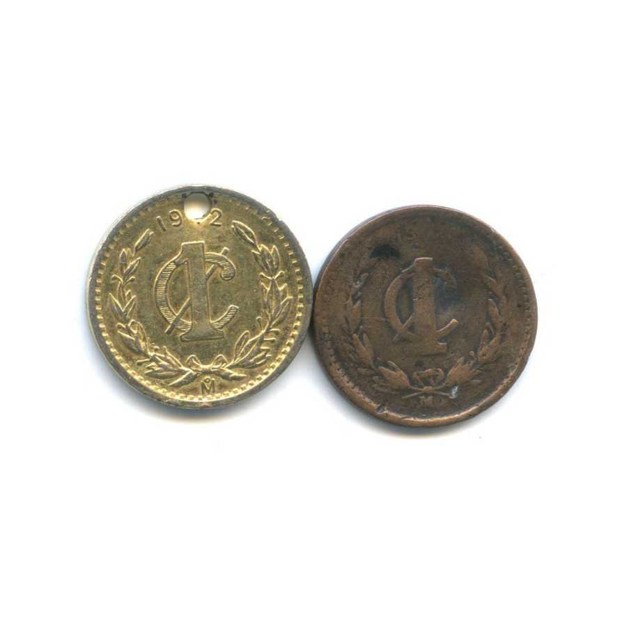 Набор монет 1 сентаво (Мексика)