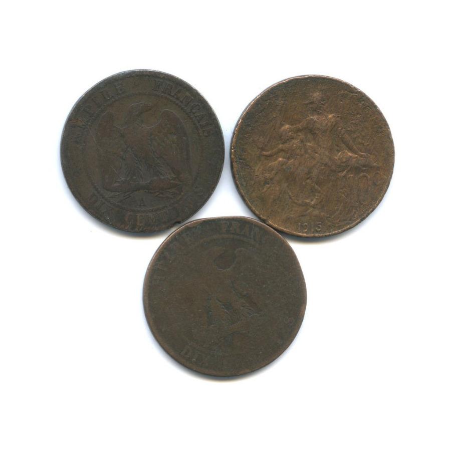 Набор монет 10 сантимов (Франция)