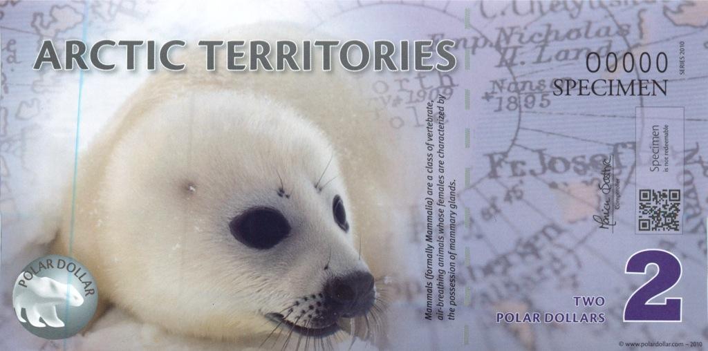 2 доллара (Арктические территории) 2010 года