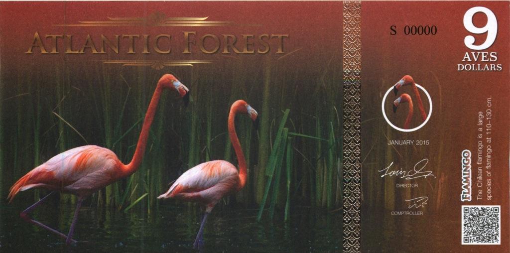 9 долларов (Атлантический лес) 2015 года