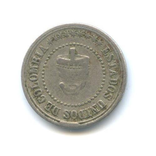 2 1/2 сентаво 1881 года (Колумбия)