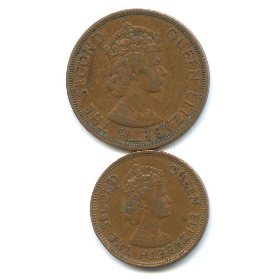 Набор монет (Британские Карибы) 1965 года