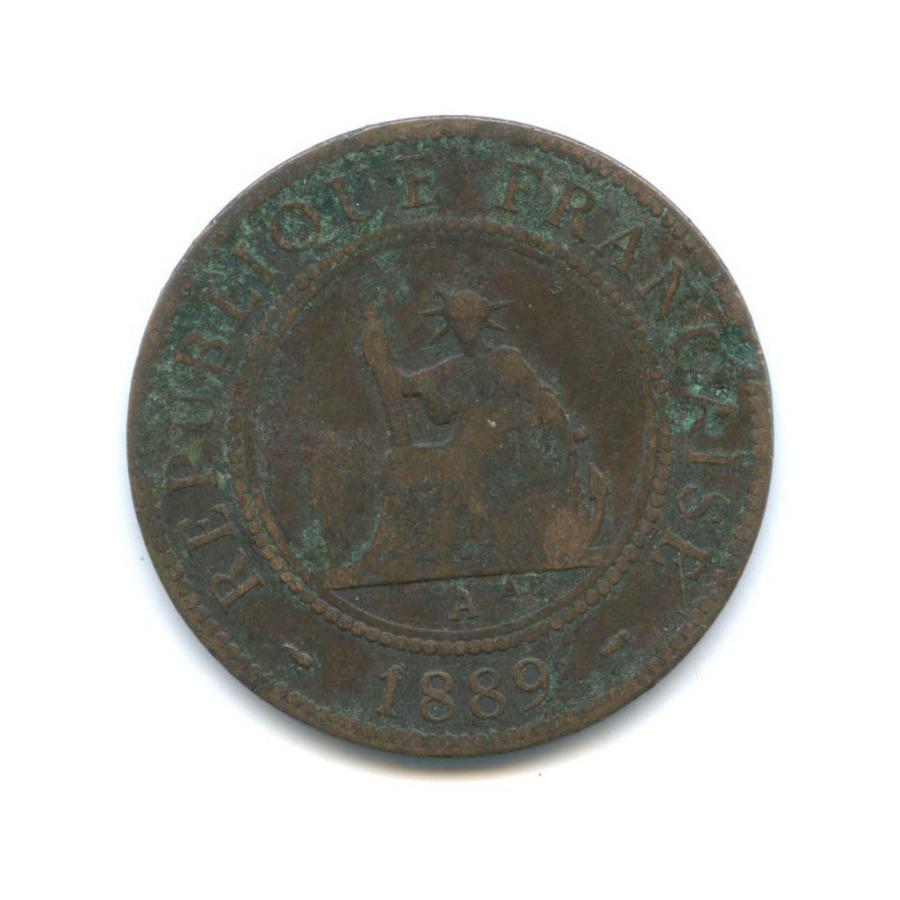 1 цент (Французский Индокитай) 1889 года