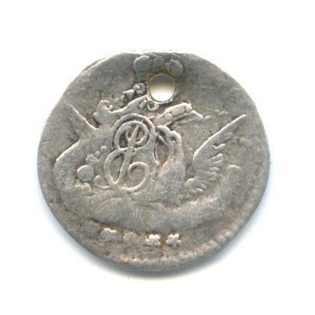5 копеек 1758 года СПБ (Российская Империя)