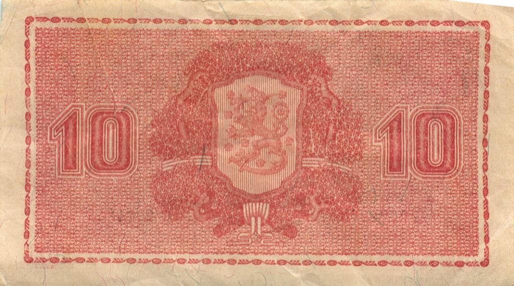 10 марок 1945 года (Финляндия)