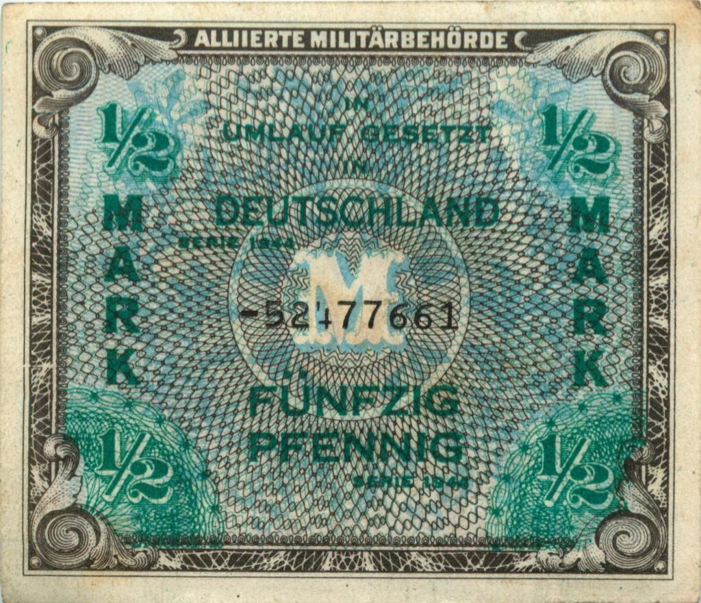 1/2 пфеннига 1944 года (Германия (Третий рейх))