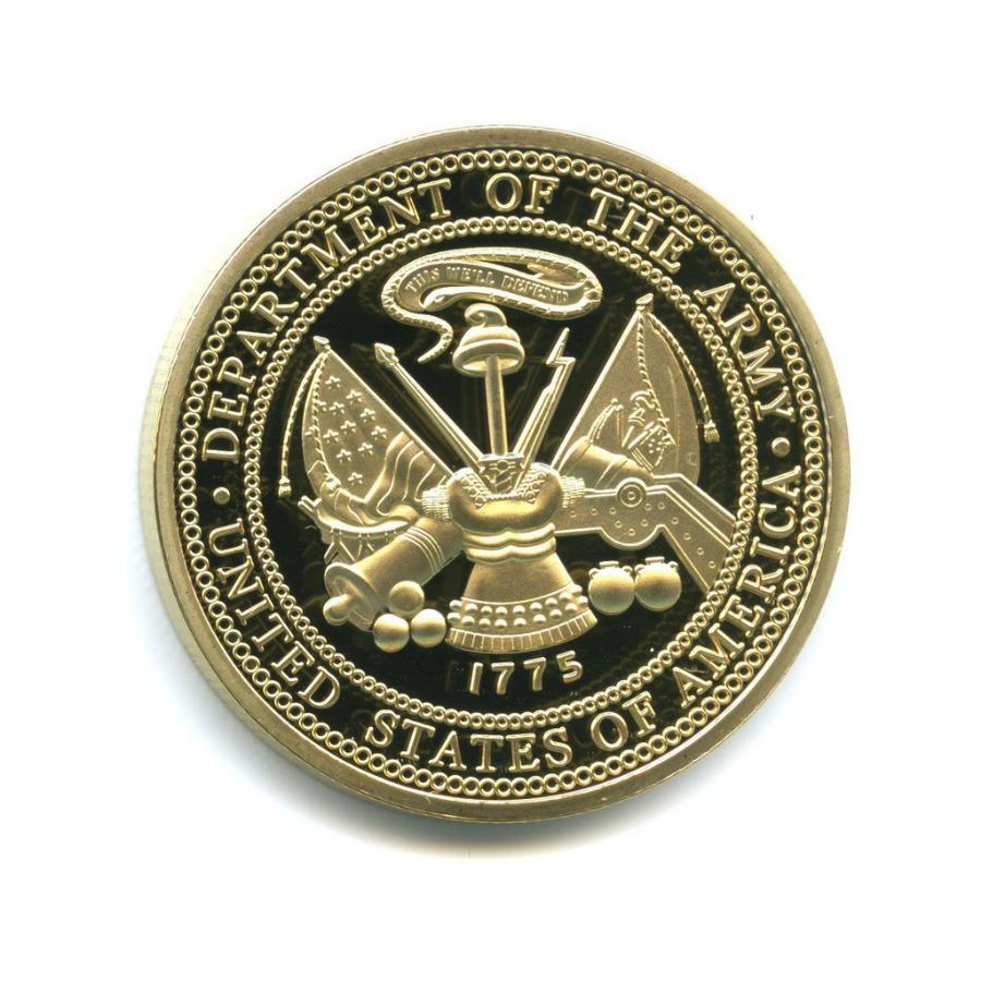 Жетон «Operation Iraqi Freedom» (под золото)