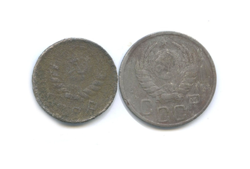 Набор монет СССР 1941, 1944 (СССР)