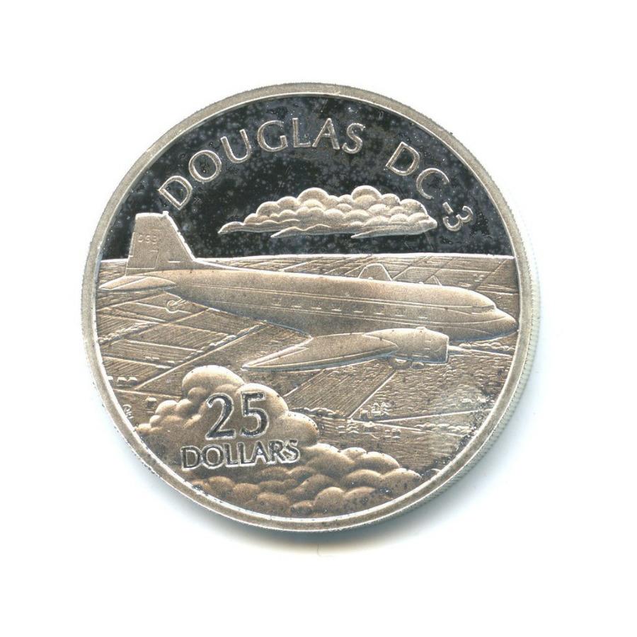 25 долларов - Пассажирский самолет «Concorde», Соломоновы острова 2003 года