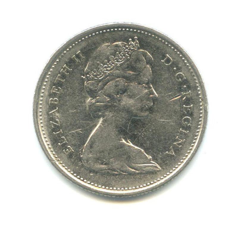 25 центов (квотер) 1968 года n (Канада)