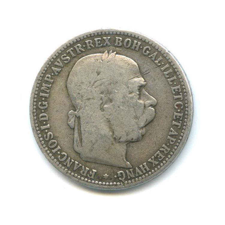 1 крона - Франц Иосиф I, Австро-Венгрия 1893 года