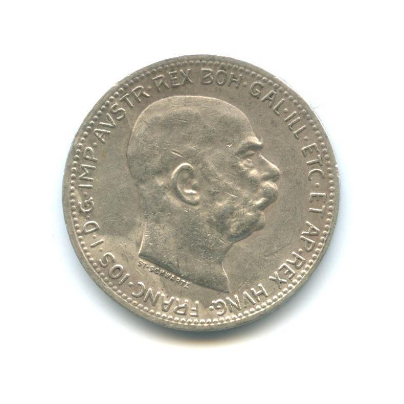 1 крона - Франц Иосиф I, Австро-Венгрия 1916 года