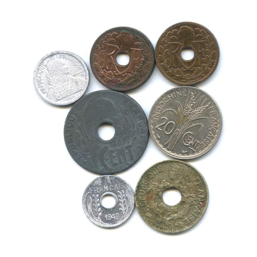 Набор монет (Французский Индокитай)