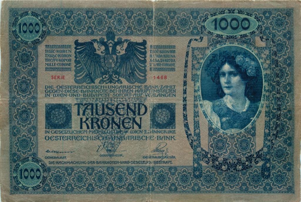 1000 крон 1902 года (Австрия)