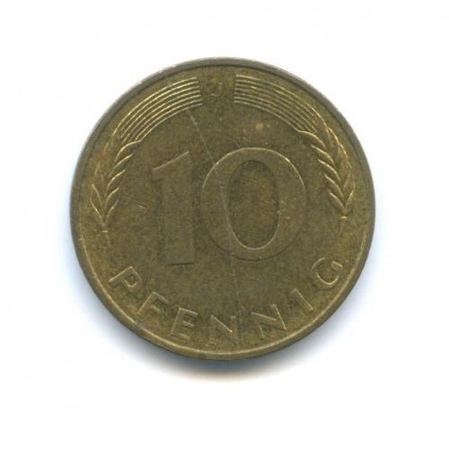 10 пфеннигов 1982 года J (Германия)