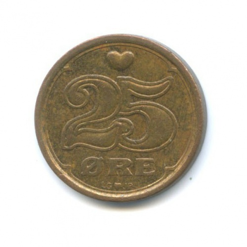 25 эре 1990 года (Дания)
