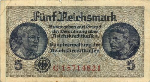 5 рейхсмарок (Германия (Третий рейх))