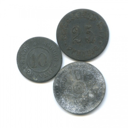 Набор монет (нотгельд) (Германия)