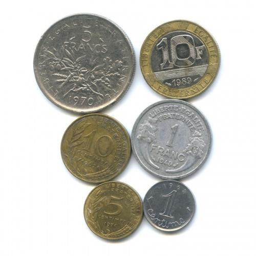 Набор монет (Франция)