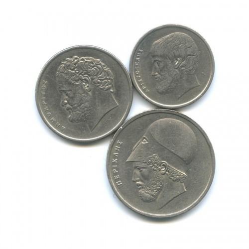 Набор монет 1976 года (Греция)