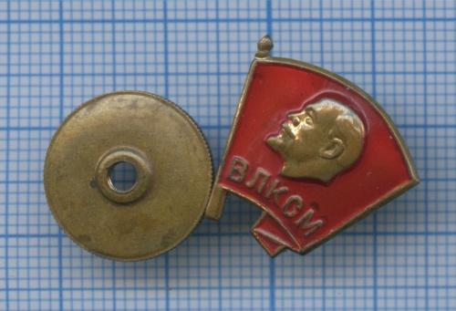 Знак «ВЛКСМ», тяжелый (1958-1991) (СССР)