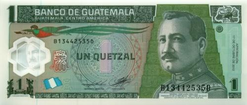 1 кетцаль (Гватемала)