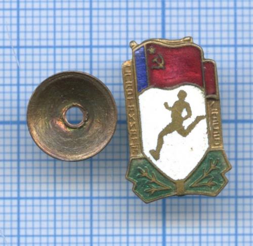 Знак «Спартакиада» 1956 года (СССР)