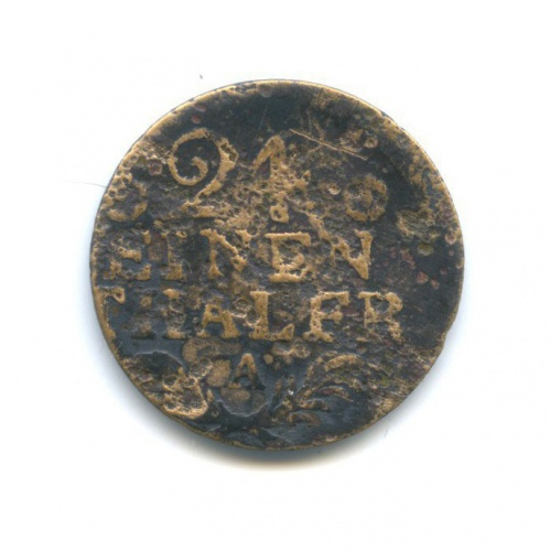 1/24 талера, Пруссия 1764–1786 А