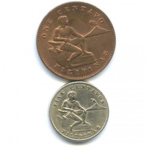 Набор монет 1944 года (Филиппины)