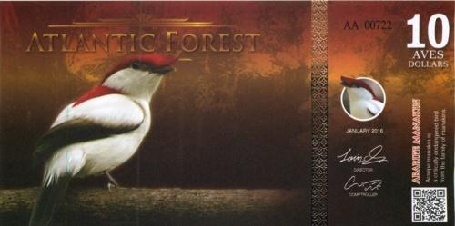 10 долларов (Атлантический лес)