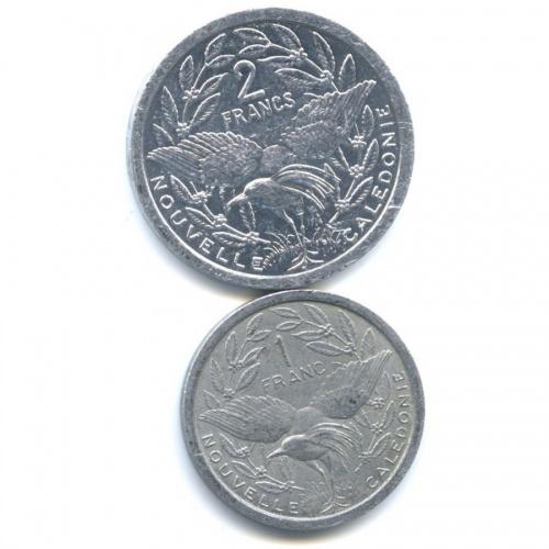 Набор монет (Новая Каледолия) 1981, 2009