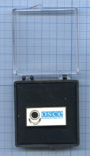 Знак «OSCE - Kazakhstan 2010» (в футляре) 2010 года (Казахстан)