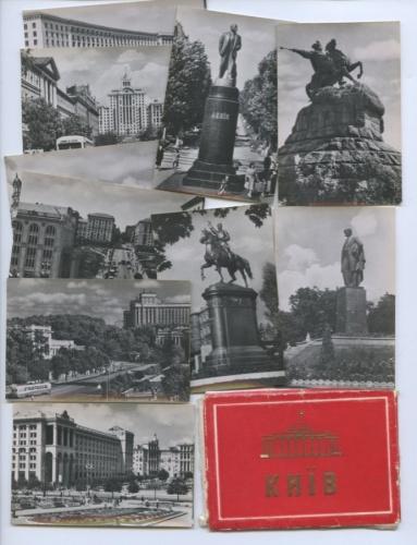 Набор открыток «Киев» (взаводской упаковке) (Украина)