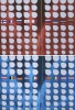 Набор коллекционных альбомов «Разменные монеты евро», Iтом (80 ячеек), IIтом (80 ячеек) (Россия)