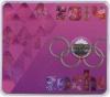 25 рублей — Эмблема. XXII зимние Олимпийские Игры иXIзимние Паралимпийские Игры, Сочи 2014 (цветная эмаль, неофициальный выпуск) 2011 года (Россия)