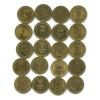 Набор монет 10 рублей — Города воинской славы 2011-2014 (Россия)