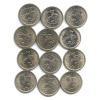 Набор монет 1 копейка (Россия)