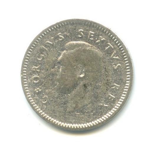 3 пенса 1952 года (ЮАР)