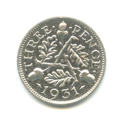 3 пенса 1931 года (Великобритания)