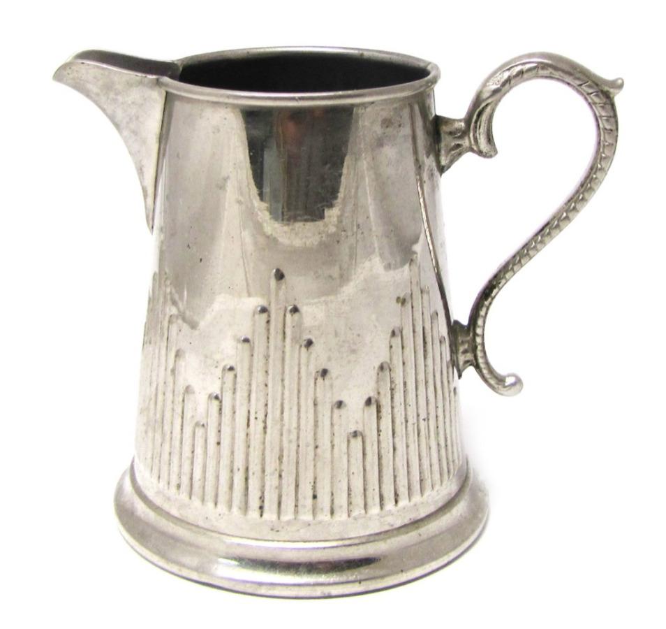 Сливочник, до1917 г., серебрение, 0,2 л (9 см)