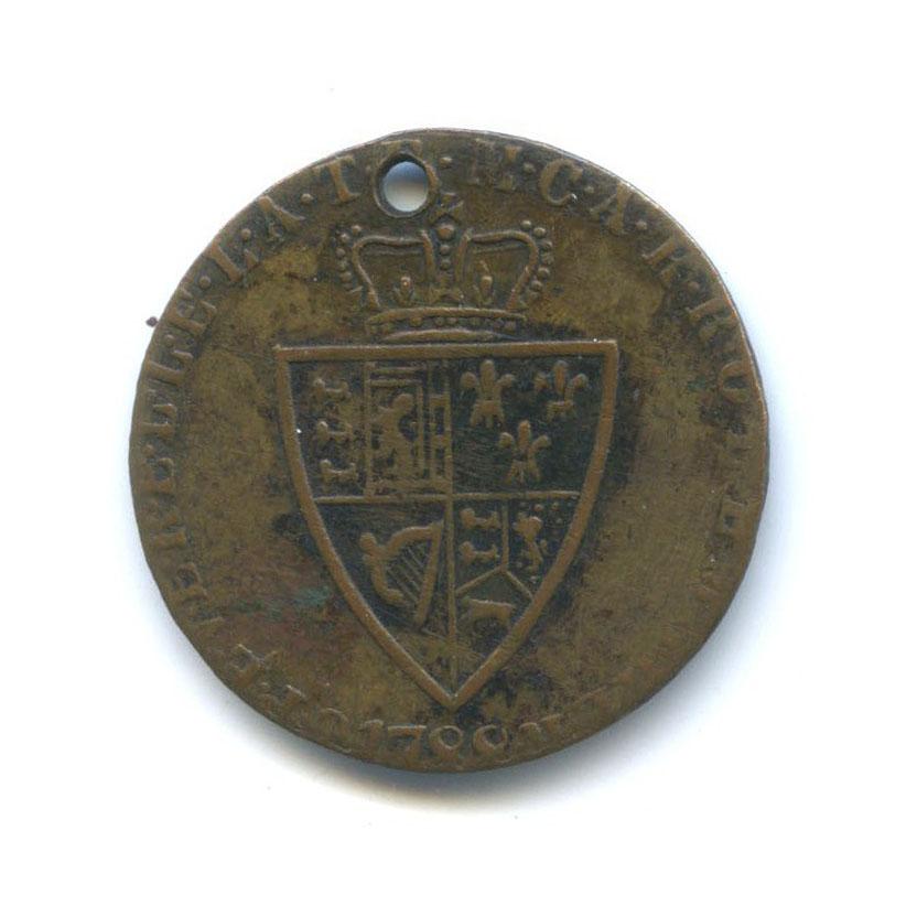 Жетон «1/2 гинеи 1788 - Георг III, Великобритания» (копия)