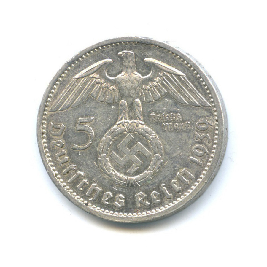 5 рейхсмарок 1939 года A (Германия (Третий рейх))