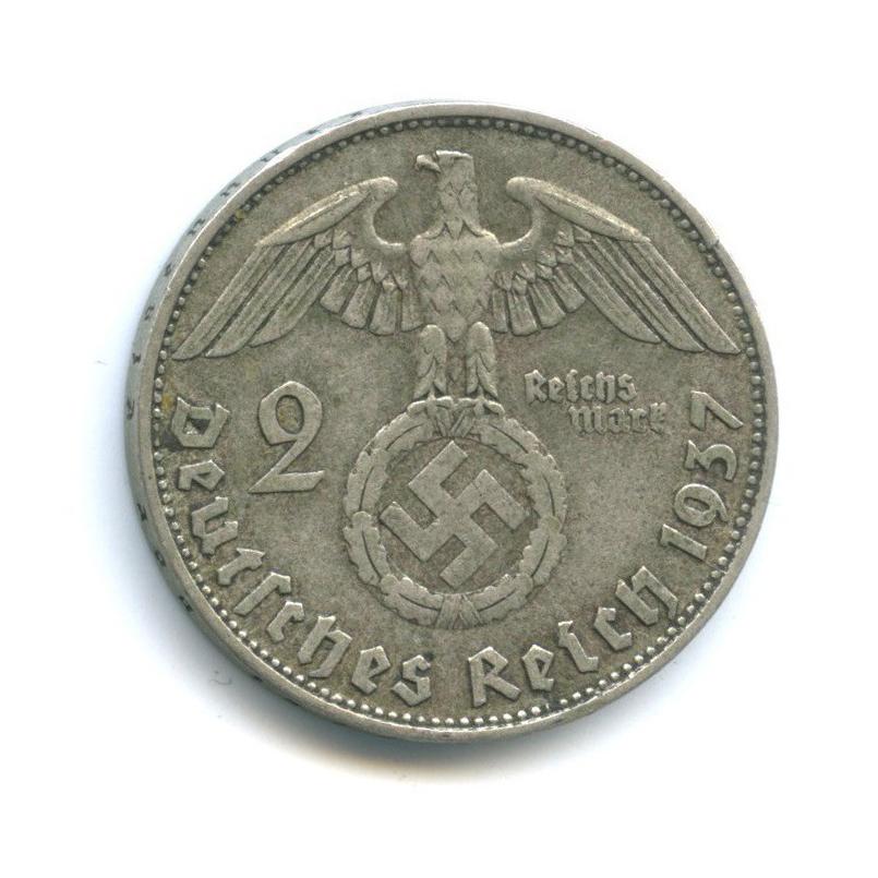 2 рейхсмарки 1937 года D (Германия (Третий рейх))