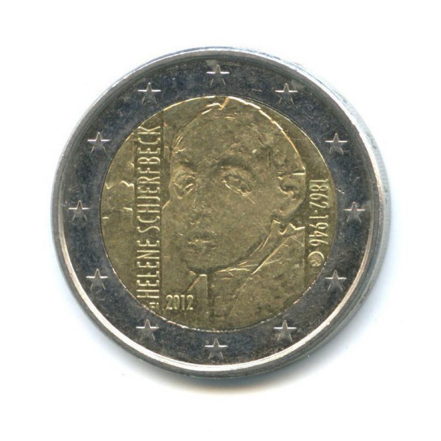 2 евро — 150 лет содня рождения Хелены Шерфбек 2012 года (Финляндия)