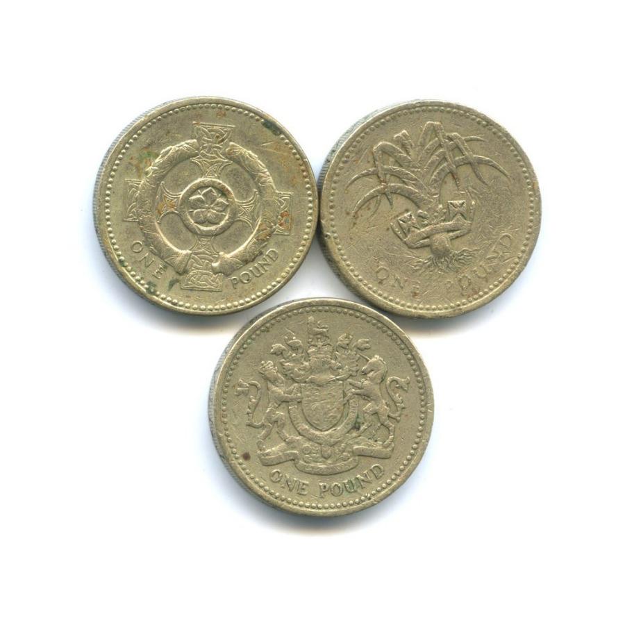 Набор монет 1 фунт (Великобритания)