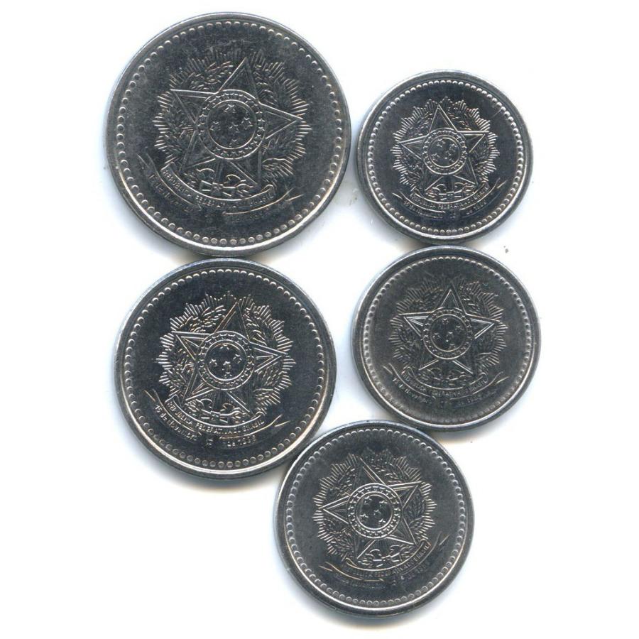 Набор монет 1986-1988 (Бразилия)
