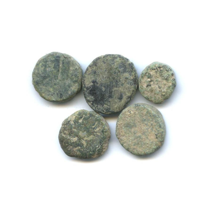 Набор монет - Омейядский фельс, Исламская Испания, Андалусия (711-1492 гг)