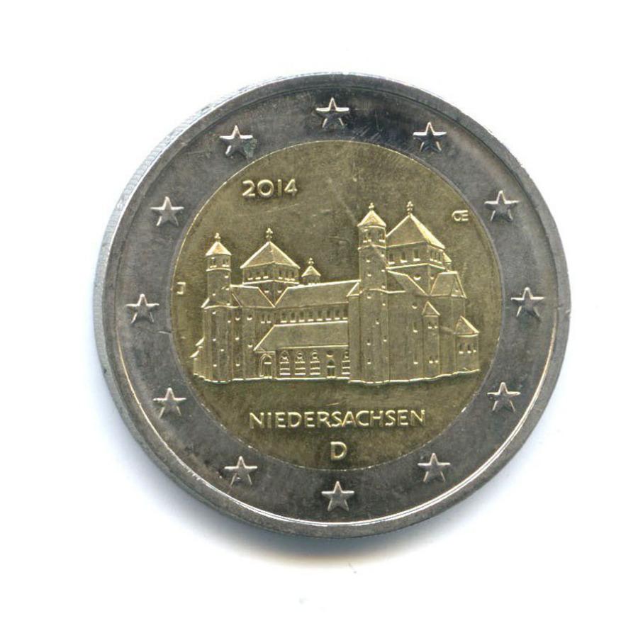 2 евро - Федеральные земли Германии: Хильдесхайм 2014 года (Германия)
